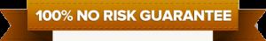100% no risk gurantee